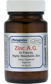 metagenics zinc