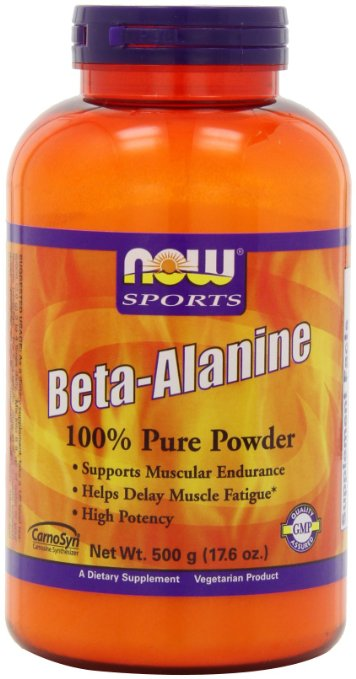 beta alanine powder NOW